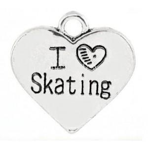 Pendentif Love Skating